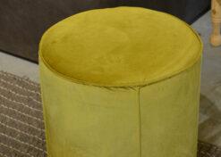 poef groen velvet 2
