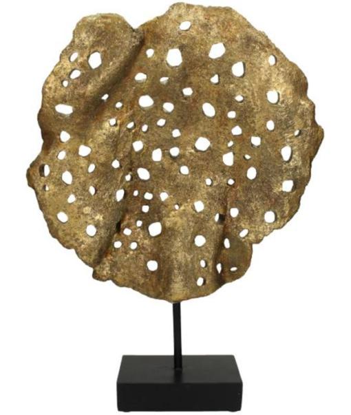 Ornament Coral Gold 2