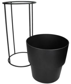 Planter Black 2