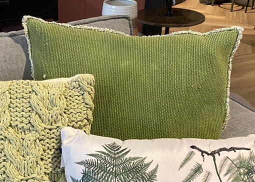 Sierkussen Groen