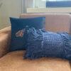 Kussen Blauw Jeans