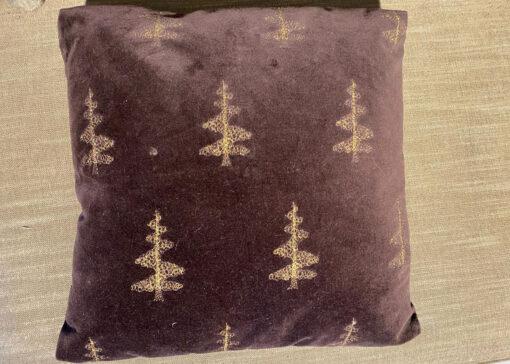 Kussen Kerstboom Bruin 2