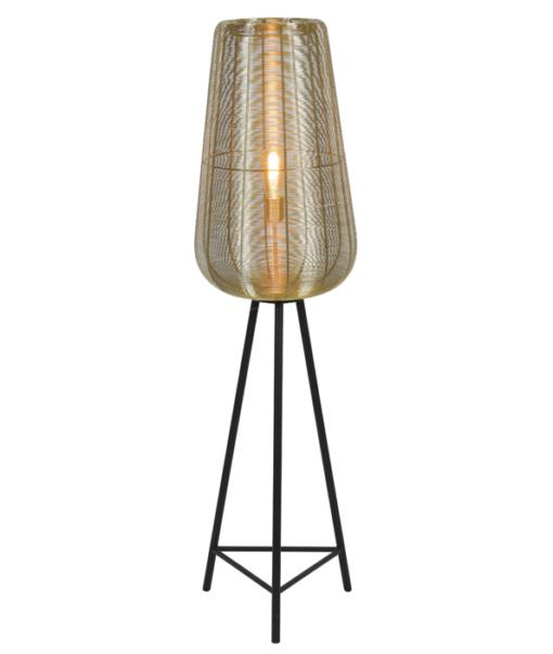Vloerlamp Adeta Brons 1