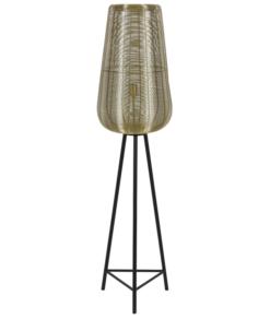 Vloerlamp Adeta Brons L