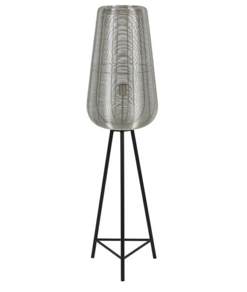 Vloerlamp Adeta Nikkel S 1