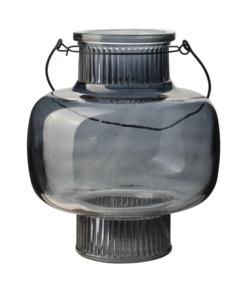 Lantaarn Glas Blauw
