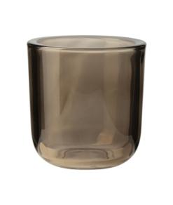 Windlicht Glas Bruin M