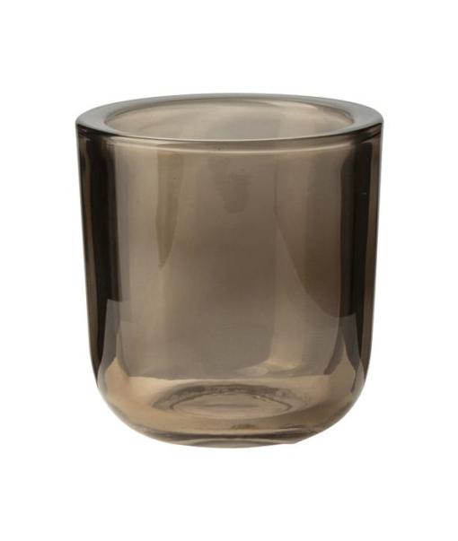 Windlicht Glas Bruin S