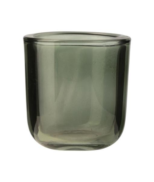 Windlicht Glas Groen S
