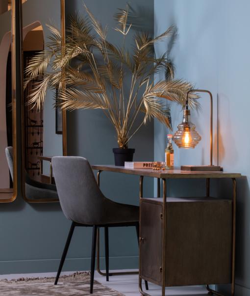 Palm Kunstplant Goud 1