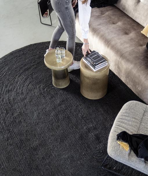 Carpet Vloerkleed M Zwart 2