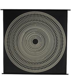 Hanging Circles Black