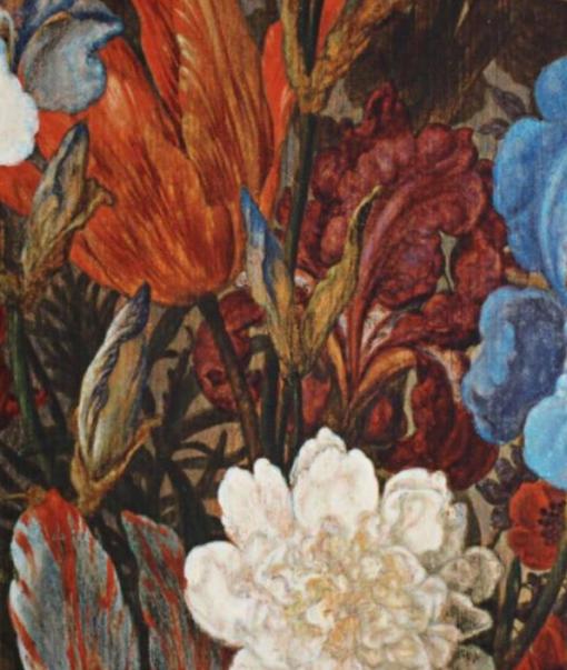 Wandkleed Bloemen 1