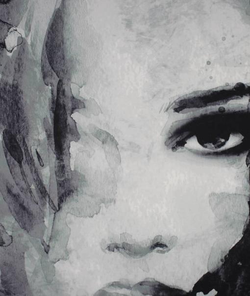 Woman Face Black 1